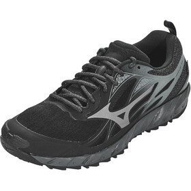 Mizuno Wave Ibuki GTX Chaussures de trail Homme, black/metallic shadow/dark shadow